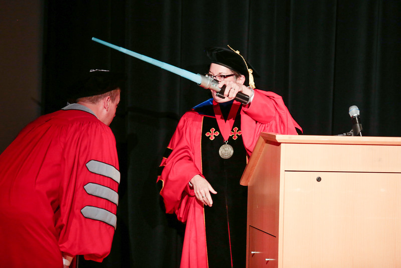 2016 HESA Hooding Ceremony