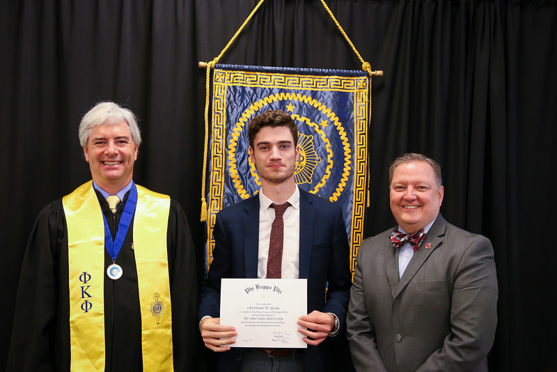 Phi Kappa Phi Chapter 155's Initiation and Recognition Ceremony