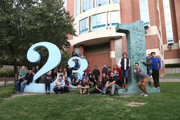 Society of Hispanic Professional Engineers Group Photo