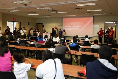 Society of Hispanic Professional Engineers STEM challenge