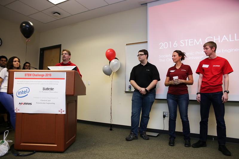 2016 SHPE STEM challenge