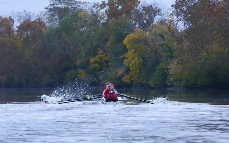 The Ohio State Crew Rowing Practice