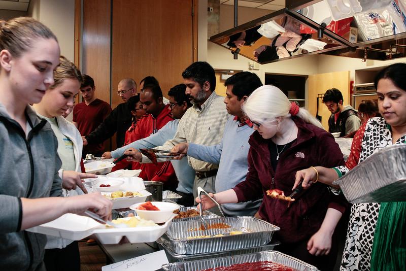 2015 Vegetarian Cooking Workshop Thanksgiving