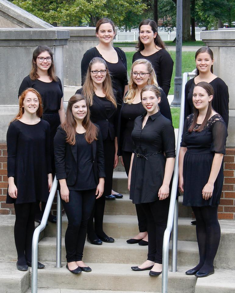 Women's Glee Club group photos