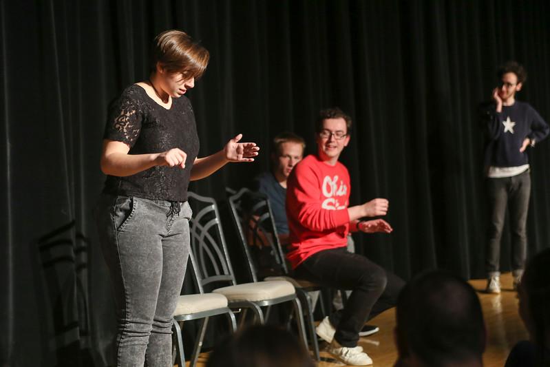 2017 8th Floor Improv Alumni Show