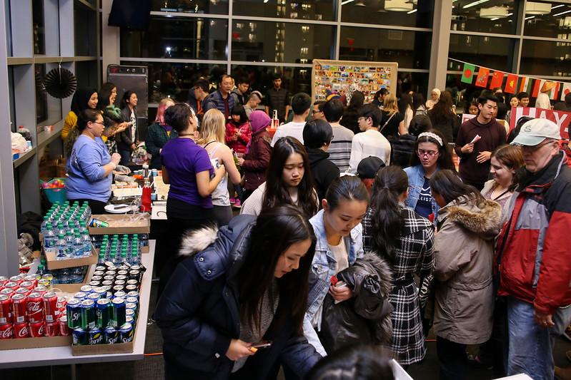 EACC x TASA Night Market event