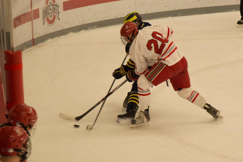 Men's Club Ice Hockey vs. Michigan 1