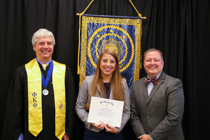 2016 PKP Honor Society Initiation & Recognition Ceremony