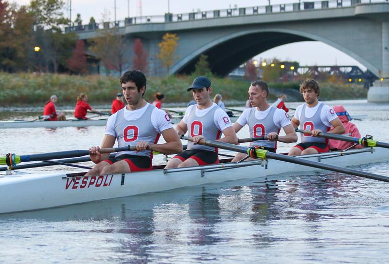 2016 Ohio State Crew Rowing Team Practice