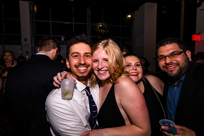 Students attend the engineering ball held at TRISM Performance and Event Venue on Saturday, March 2.