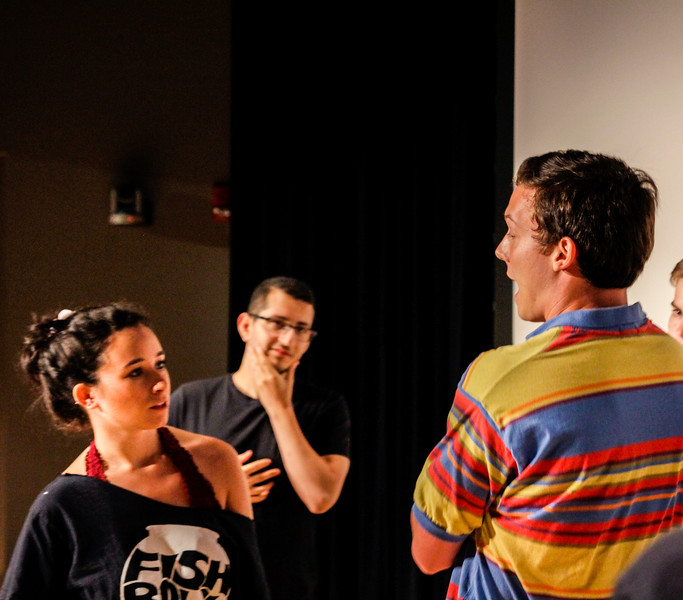 Fishbowl Improv Welcome Week Show
