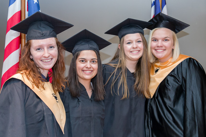 The 2018 Mortar Board National College Senior Honor Society Induction Ceremony
