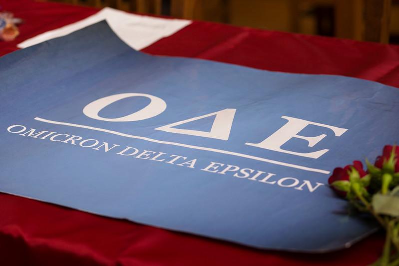 2017 Omicron Delta Epsilon Initiation