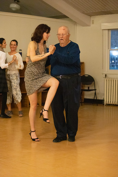 2020 Argentine Tango Club Lesson and Dance Party 1