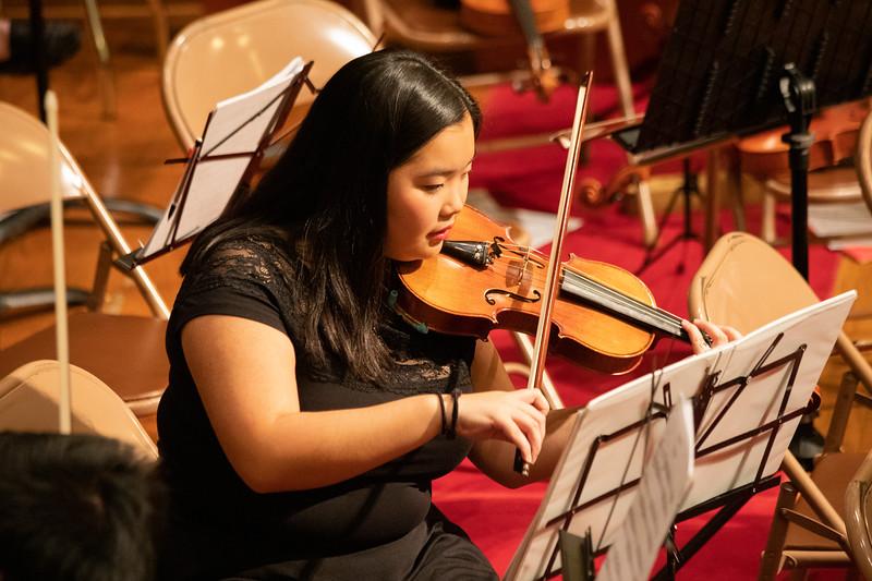 Buckeye Philharmonic Winter Concert December 8, 2019 (Allison Cuba - The Ohio State University Office of Student Life)