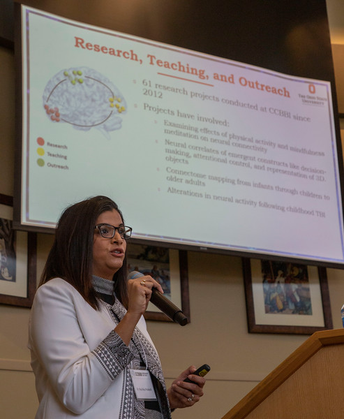 Center for Cognitive and Behavioral Brain Imaging Research Day Thursday December 6, 2019 (Jim Bowling - The Ohio State University Office of Student Life)