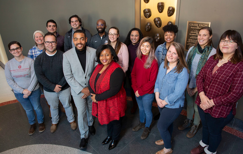 Council of Graduate Students Buckeye Diversity Dialogue Series Group Photos Thursday December 5, 2019 (Jim Bowling - The Ohio State University Office of Student Life)