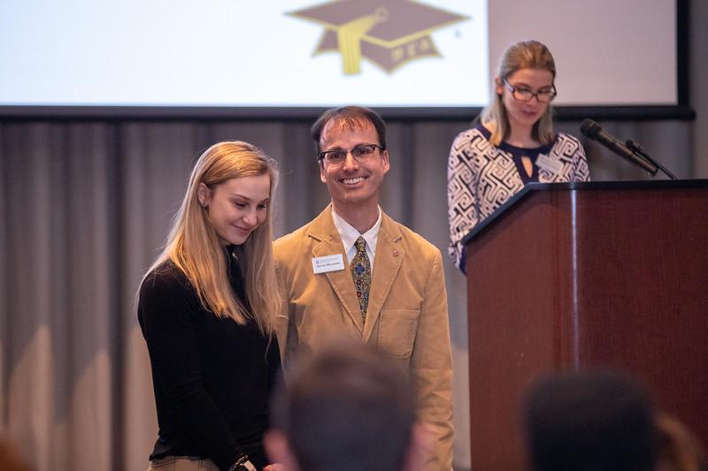 Mortar Board & Sphinx Honor Society Faculty Staff Reception