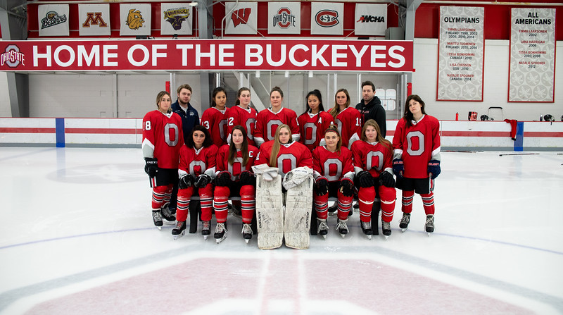 2019 - 2020 Women's Club Hockey Team Photos