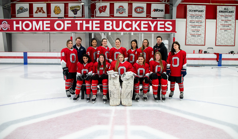 Women's Club Hockey Team Photos 11/6/2019.<br /> Kerem Gencer