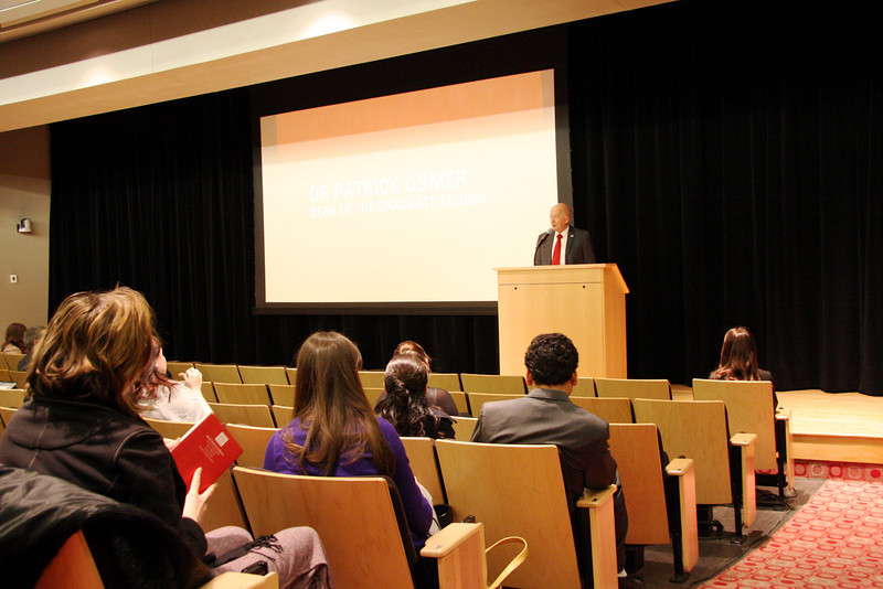 2013 Edward F. Hayes Graduate Research Forum