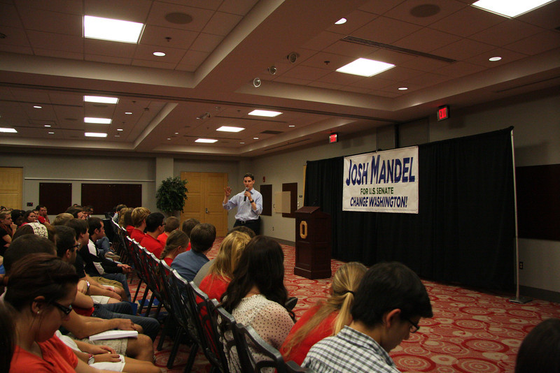2012 USG Speaker Series Event - Josh Mandel