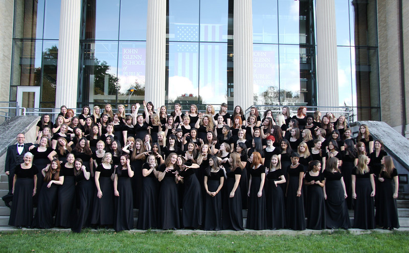 2012 Women's Glee Club Group Photos