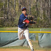 Brookdale's Luis Hildalgo fields a ground ball in game against Gloucester. The Brookdale Community College baseball team hosted and beat both Gloucester on April 24 and Harford on April 25, 2014./Russ DeSantis Photography and Video, LLC