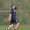 Pat Mills of Brookdale Community College in action against Ocean County College on Monday, April 28, 2014. /Russ DeSantis