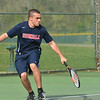 of Brookdale Community College in action against Ocean County College on Monday, April 28, 2014. /Russ DeSantis