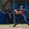 Courtney Semkewyc (15) waits on a pitch. The Brookdale Community College softball team beat Ocean County College in the morning game of the Region XIX softball tournament held at Middlesex County College in Edison on Saturday, May 3, 2014./Russ DeSantis Photography and Video, LLC