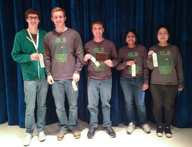 CLS Math Team Places First at Regionals
