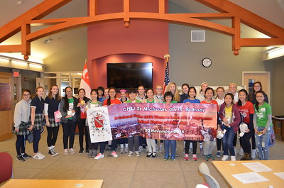 2016 Student Visitors from Singapore