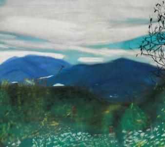 Ms. Plourde's Studio Practice | Pastels inspired by Amanda Houston's '84 Visit | May 2016