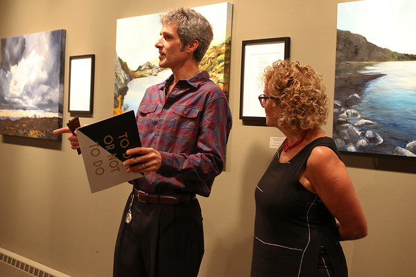 Gallery Opening and Classroom Visits with Timothy Muskat and Kathryn Field