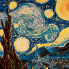 Ode to Vincent Van Gogh by ZI Yan Huang '19
