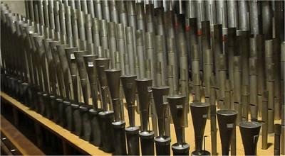 Pedal Organ Pipes