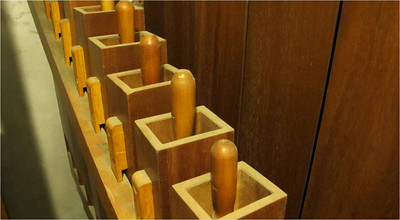 Pedal Wood Pipes