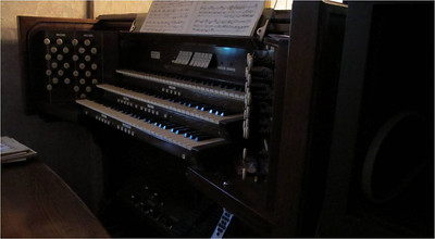 Belmont Chapel Organ Console