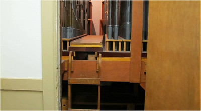 Swell Organ as seen from Sawyer House