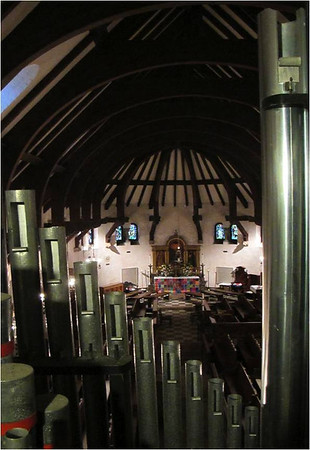 Chapel View from Great Organ