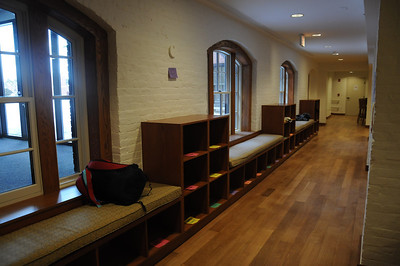 and provides an indoor route through all the student-focused areas of the main building.