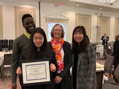 Mr.Gayle, Jenny Tang'20, Dr.Appell-Warren, Ms.Zhu #UnityatSM