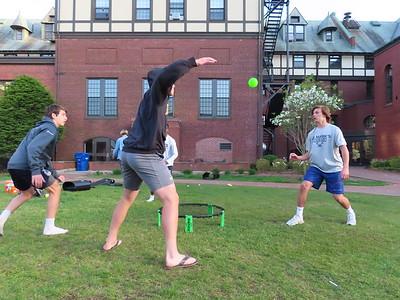 Spikeball on Athletic Quad 5.18.19