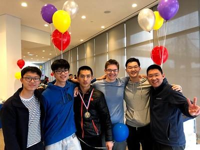 Junho (Ryan) Song'21, Yixuan (Alan) Zhu'19, Yuxuan (Jason) Chen'20, Chapin Pyne' 20, Ryan Piak'20, Zifan (Carl) Guo'22