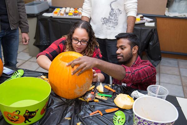 Pumpkin Carving Contest - Oct. 2017
