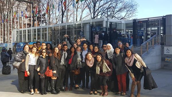 Dec 2016 SGC/ISA Trip to UN