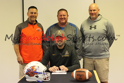 12/20/2017 Trey Ross Athletic Signing (Randleman)