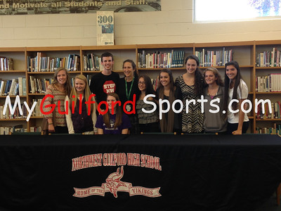 11/12/14 Northwest Guilford Letter of Intent Signings