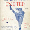 Cover of the 1930 Andover-Exeter program.